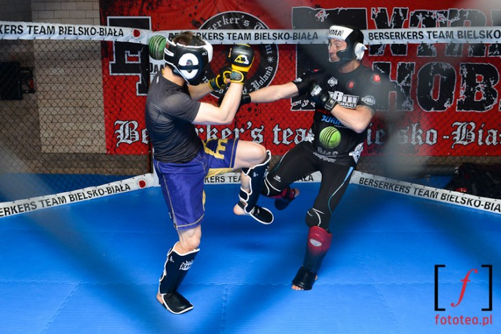 Marcin Held (Bellator) training in Bielsko-Biala