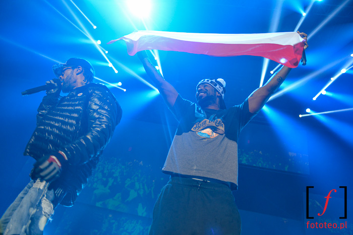 Method Man i Redman z polską flagą