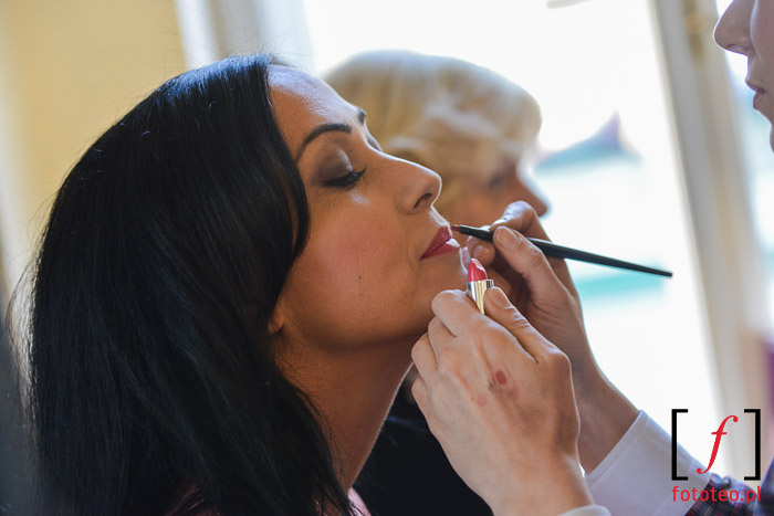 Makijaż przed wyborami miss