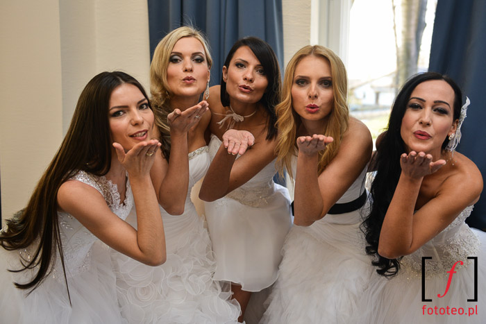 Finalistki Mrs. Poland 2014 w sukniach ślubnych