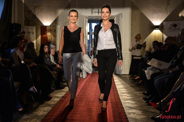 Pokaz mody biznesowej