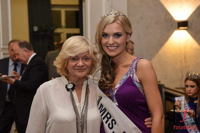 Mrs. Poland 2014 Joanna Sendecka z Lucyną Grabowską