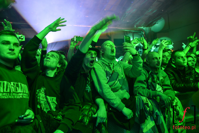Audience during A$ap Ferg show