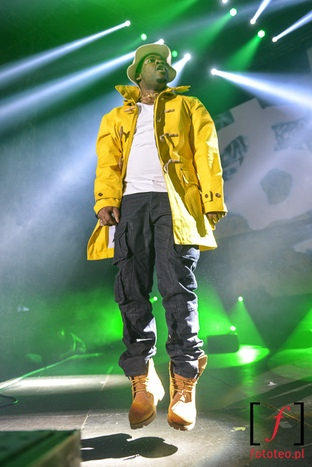 A$ap Ferg in Poland: music photography Europe