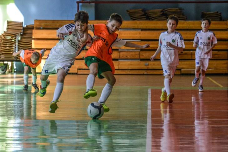 Mecz piłki nożna nahali Widok wBielsku-Białej