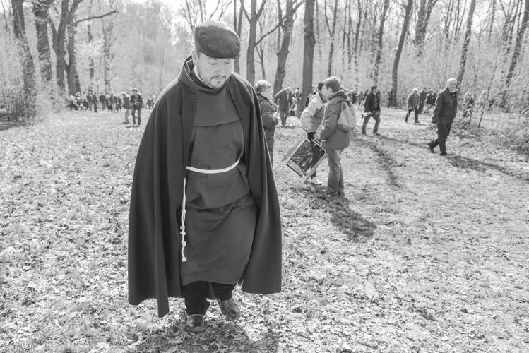 Mnich w Kalwarii