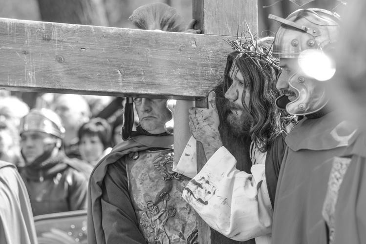 Jezus i Rzymianie przed ukrzyżowaniem