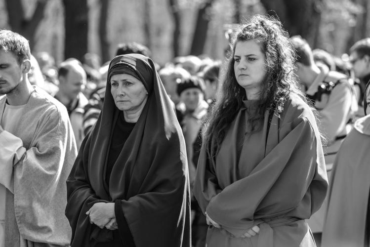 Maryja podczas drogi krzyżowej