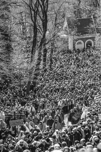 Kalwaria Zebrzydowska: procesja drogi krzyżowej