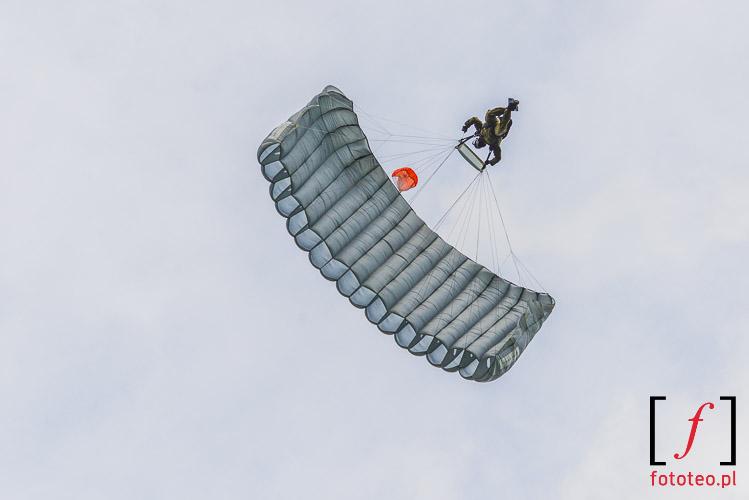 Military paratrooper, Bielsko-Biala, Poland
