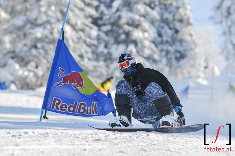 Sport photography: snowboard