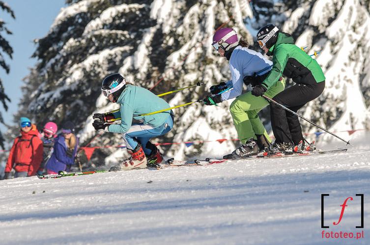Fotografia zawody narciarskie