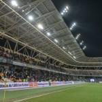 Stadion miejski trybuna Bielsko-Biala