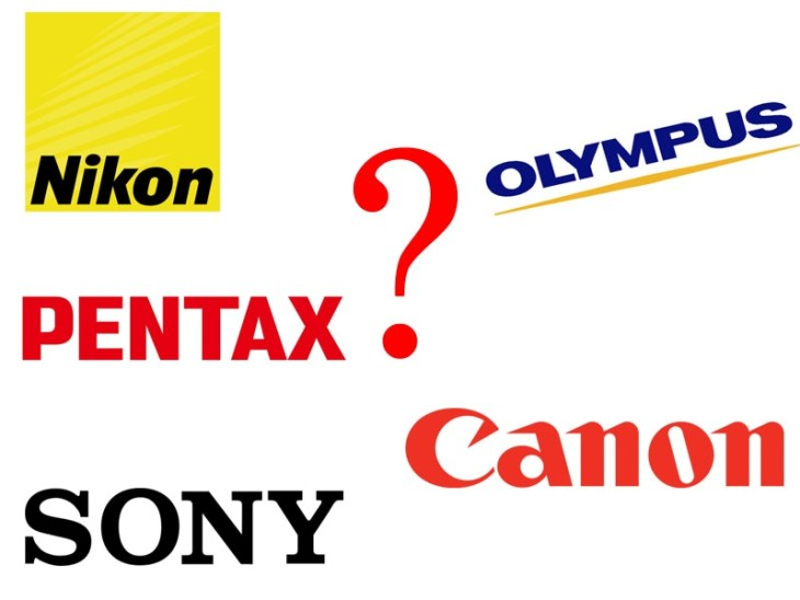 Nikon Canon Pentax Sony Olympus