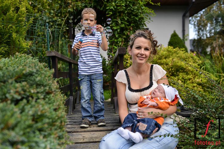 Fotograficzna sesja rodzinna