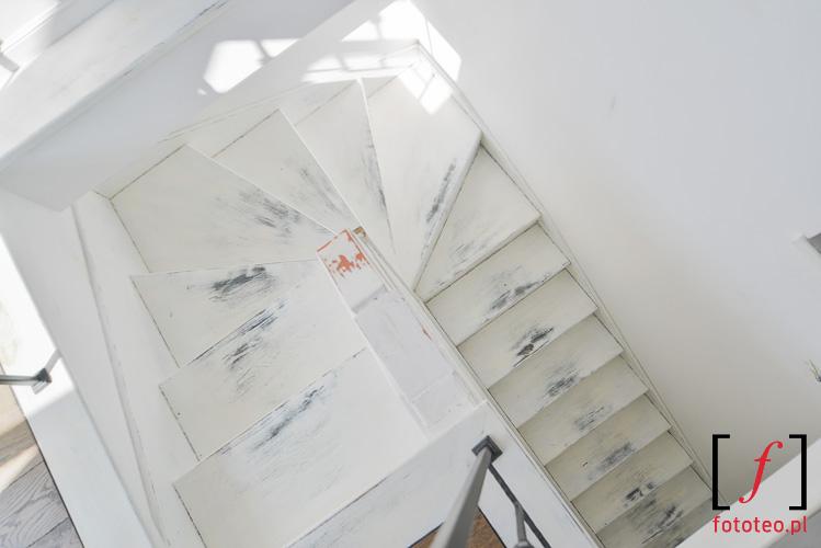 Schody, mieszkanie rutykalne fotografia