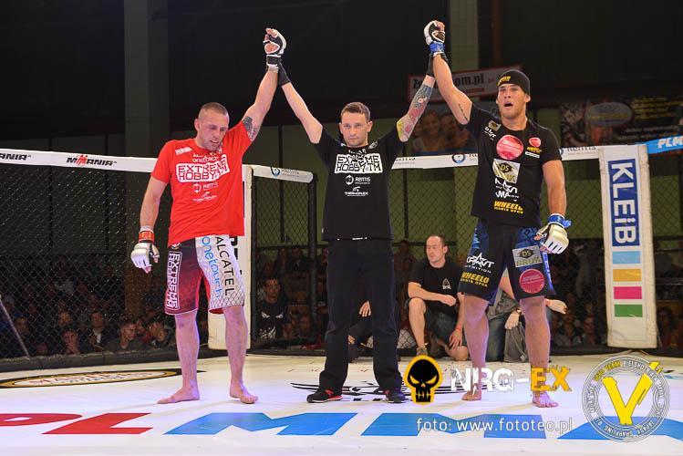 Walka MMA: Paweł Brandys vs Marcin Naruszczka remis