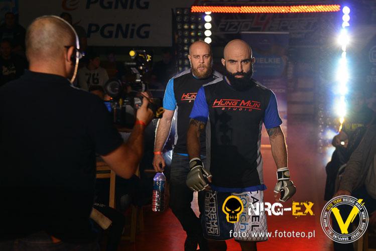 MMA fighter Guliano Pennese