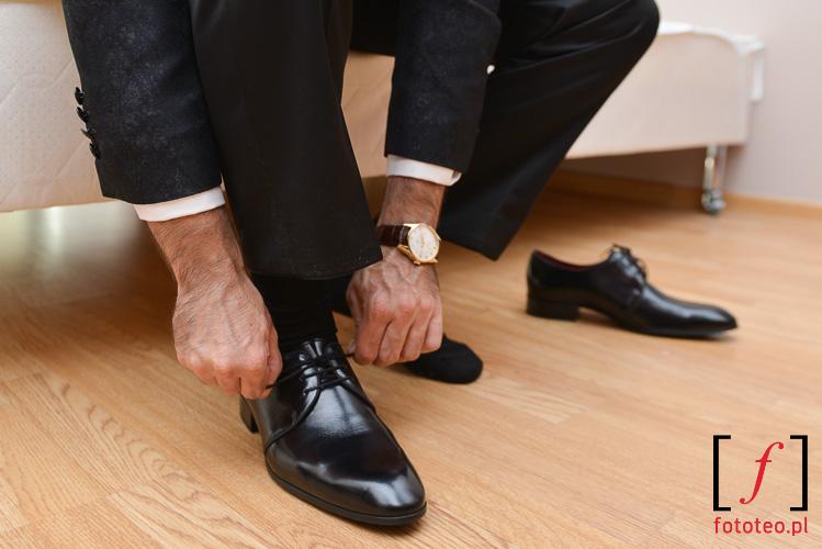 Buty dla pana mlodego slub
