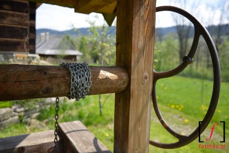 Etnopark wSlemieniu studnia