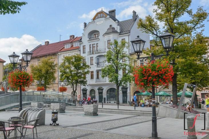 Rynek Bielsko-Biała. Fotografia architektury