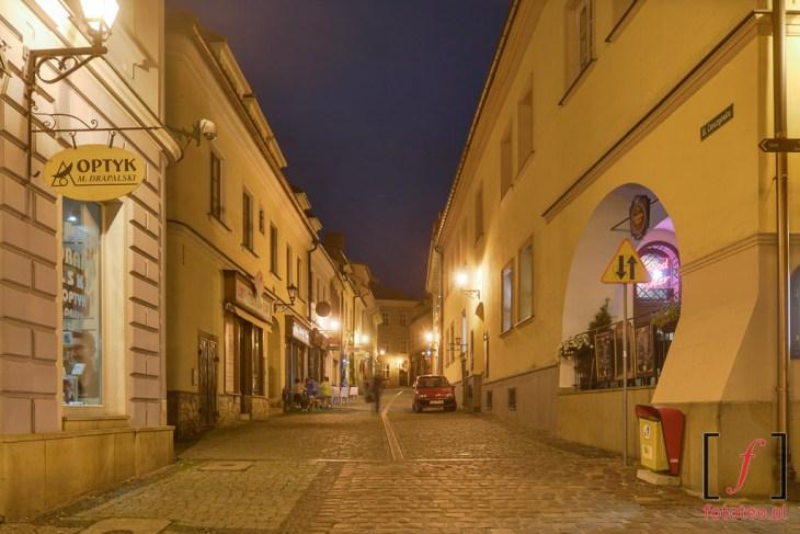 Fotografia ul.Cieszyńskiej. Fotografia odstrony Rynku