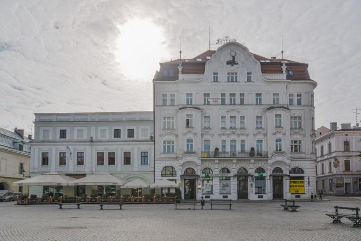 Fotograf Cieszyn. kamienica na Rynku