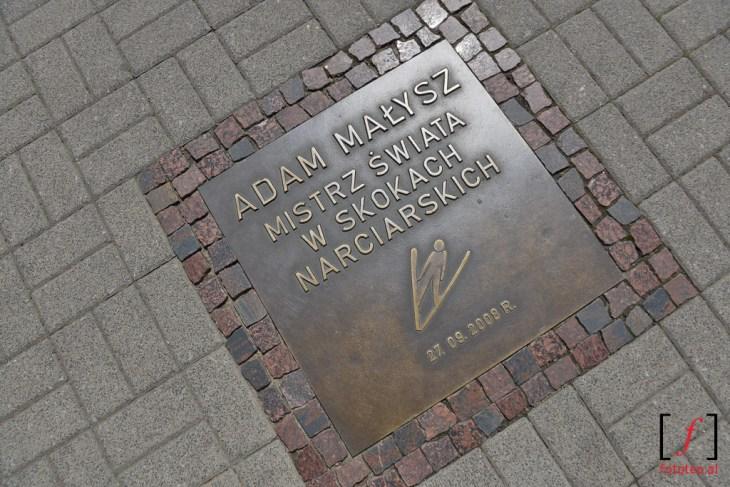 Galeria Sław Polskiego Sportu. Adam Małysz
