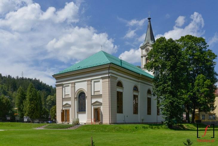 Kościół ewangelicko-augsburski wcentrum Wisły