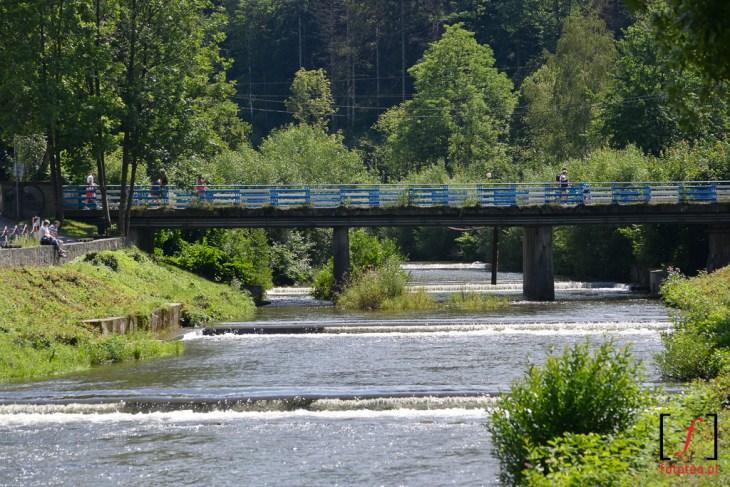 Rzeka Wisła wcentrum Wisły
