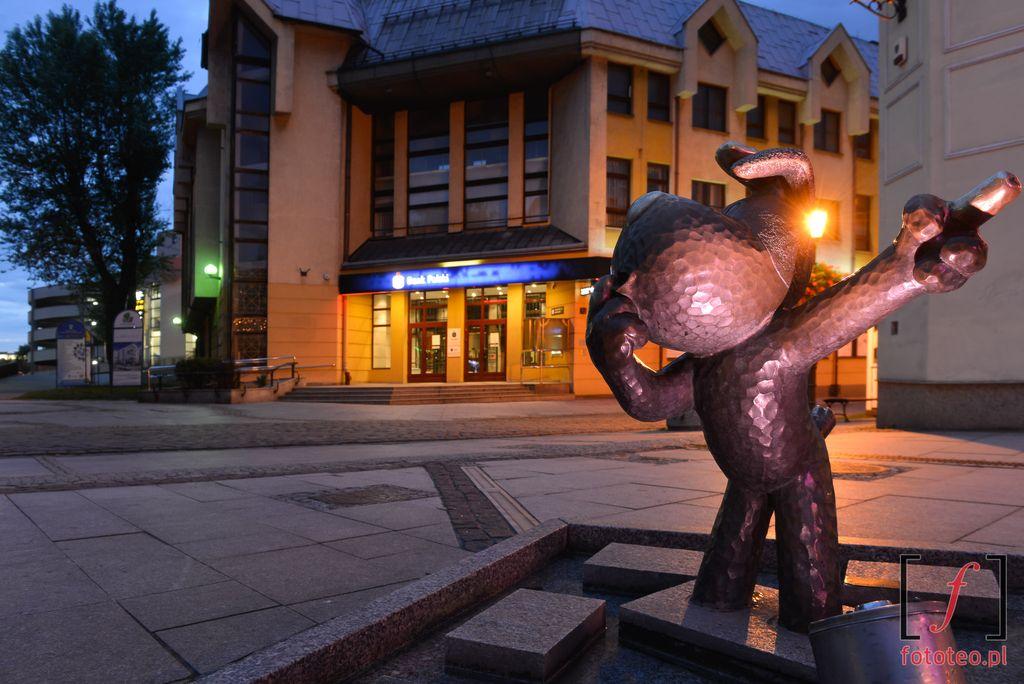 Bielsko-Biala pomnik Reksia