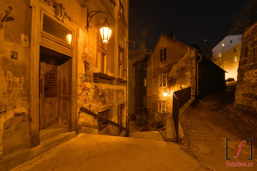Fotografia Bielsko ulica schodowa