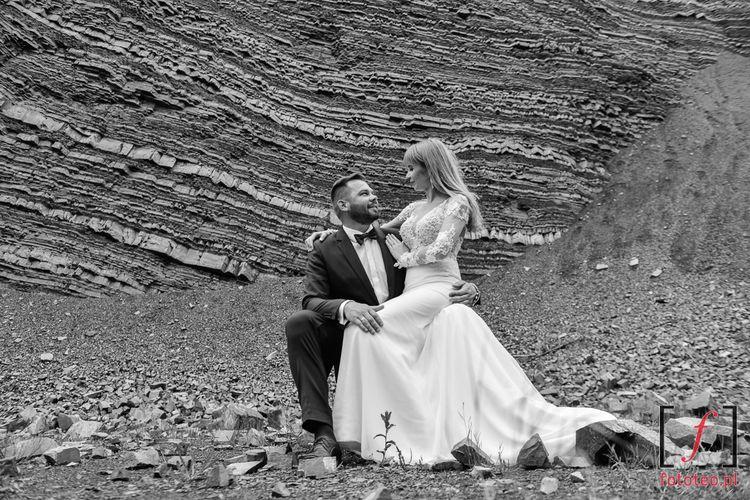 Kamieniołom w Kozach, zdjęcia ślubne