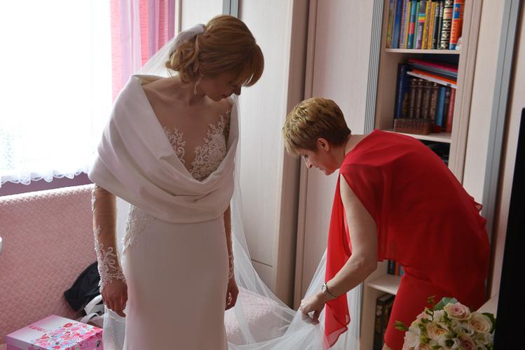 Przygotowania ślubne fotografia