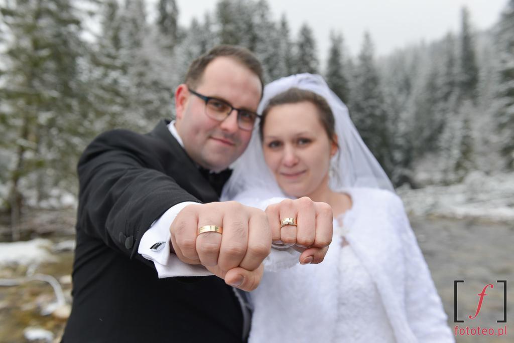 Dolina Kościeliska ślubne zdjęcia