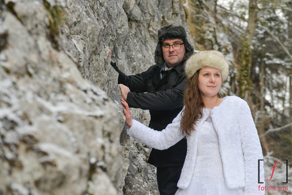 Dolina Kościeliska sesja pary młodej