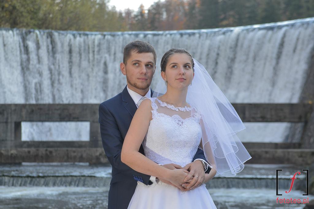 Wodospad w Wiśle Czarne ślub
