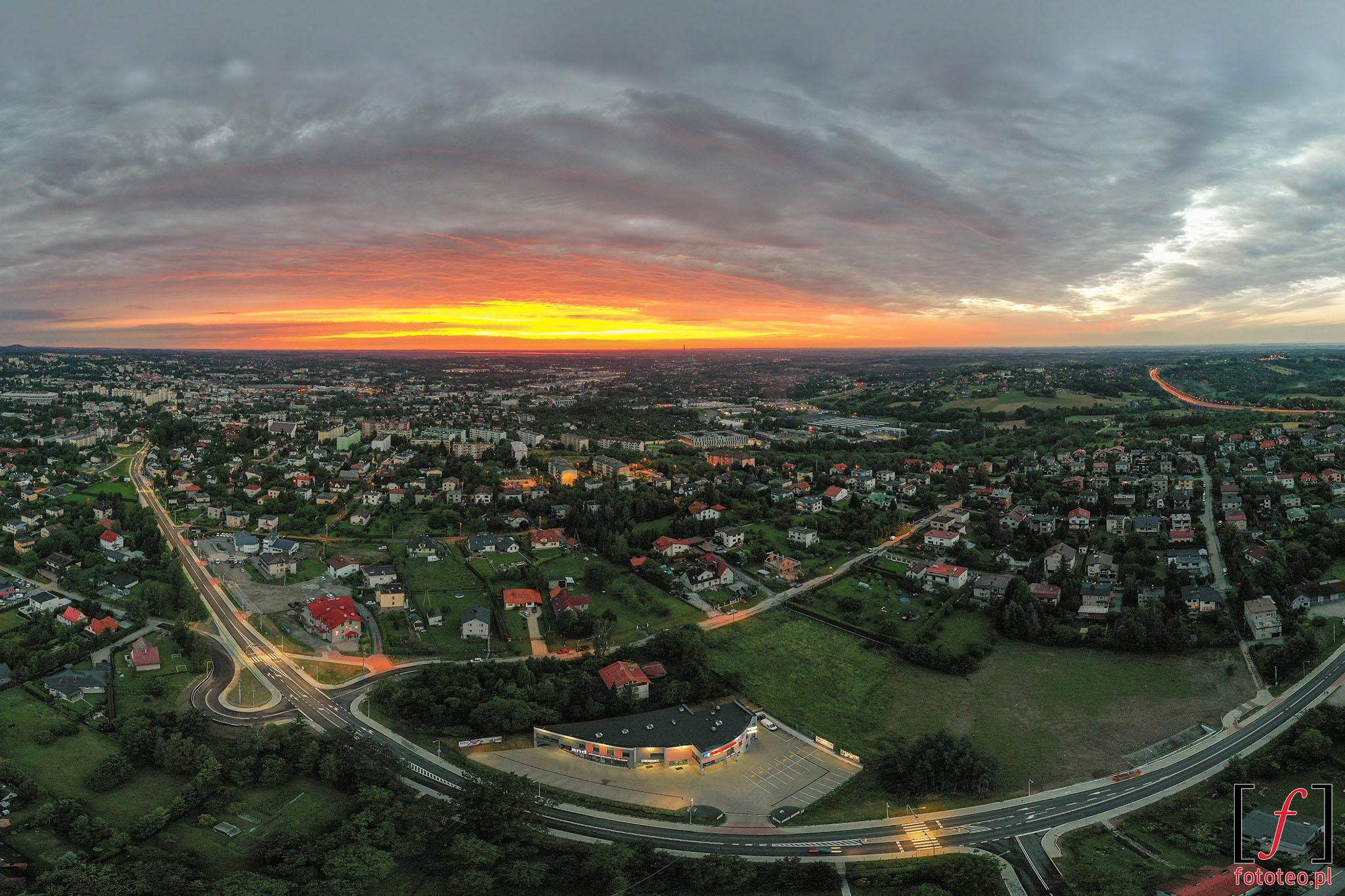 Fotografia lotnicza Bielsko-Biala