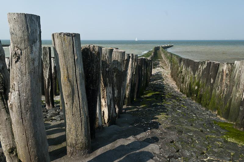 Strandhoofd bij Nieuwesluis, Zeeland