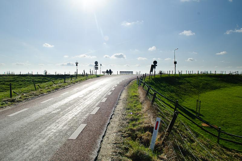 Lekdijk bij Fort Honswijk
