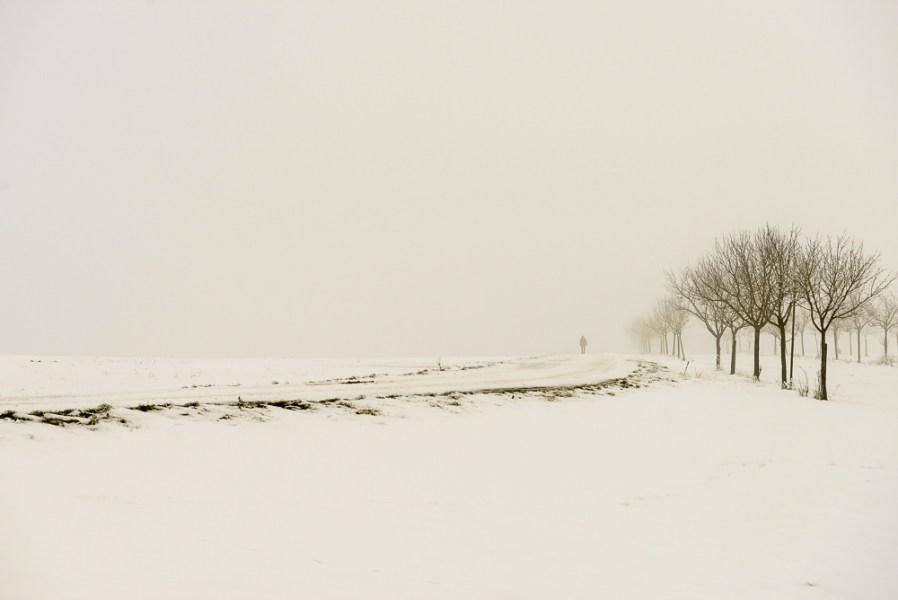 Stille landweg bij Bettenfeld