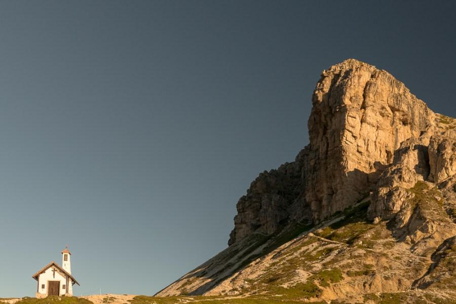 Cappella degli Alpini, Tre Cime