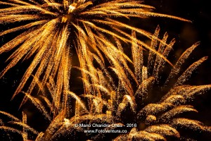 Fireworks and Gold dust in the Skies, Dubai New Year