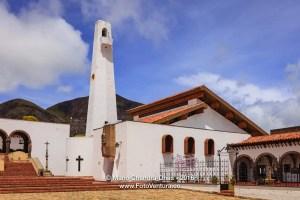 Guatavita, Colombia - Church on the town square