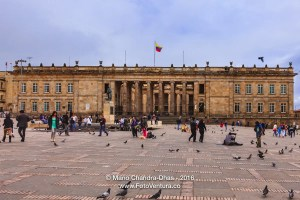 Bogota, Colombia: The seat of the Government; Spanish colonial a