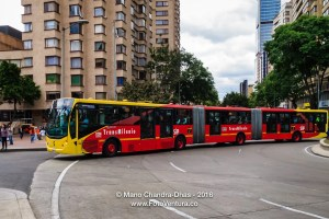 Bogotá, Colombia - TransMilenio urban transportation in the capital city