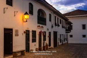 Colombia, South America - Twilight in Historic Villa de Leyva