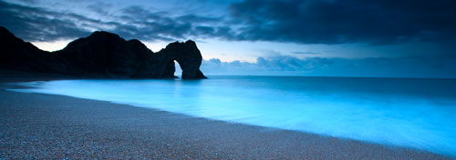 durdle door panorama canvas