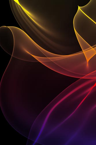 modern art on canvas rainbow silks