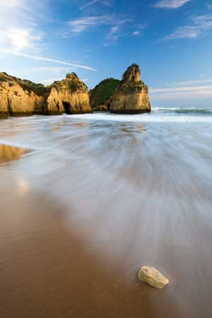 Beautiful portugal beach
